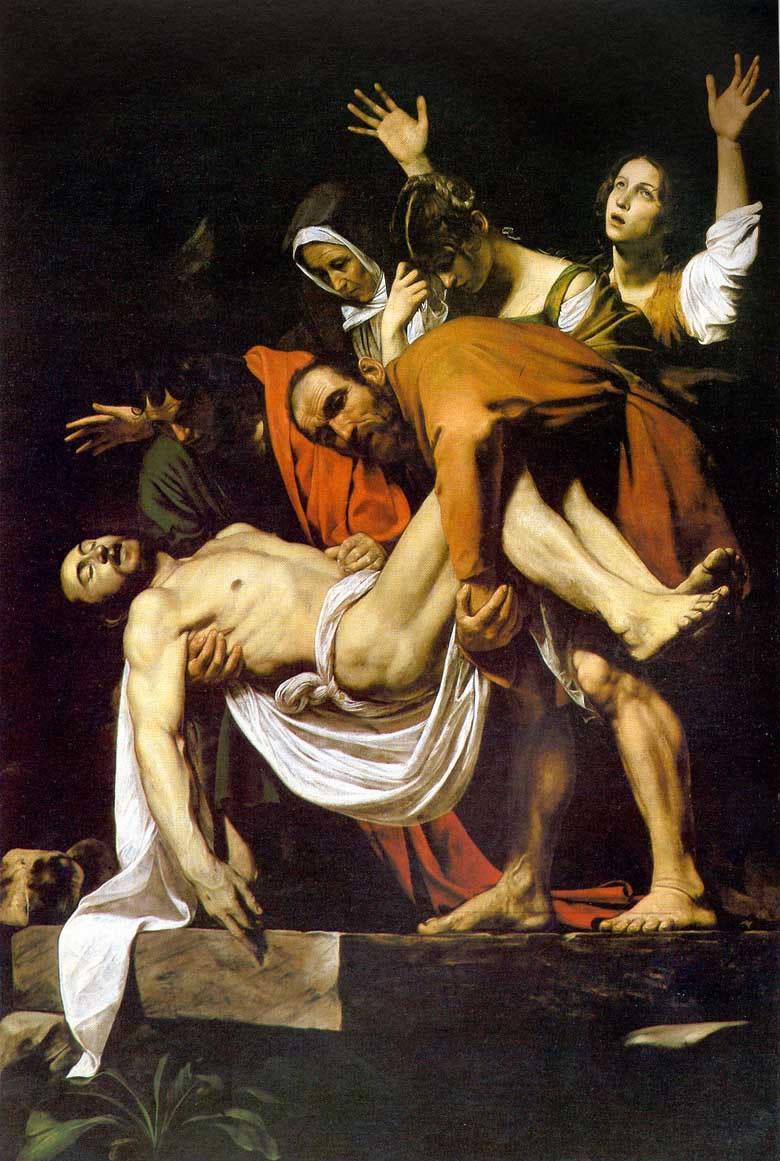 Cristo morto, risorto e dipinto dai geni dell'arte di ogni tempo